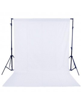 1.6 x 3M / 5 x 10FT Photography Studio Non-woven Backdrop / Background Screen 3 Colors Black White Green