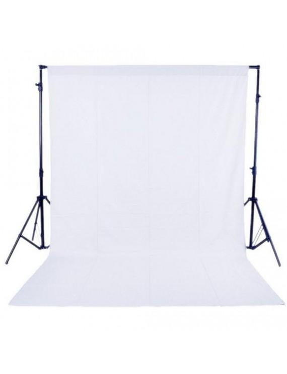 1.6 x 3M / 5 x 10FT Photography Studio Non-woven Backdrop / Background Screen 3 Colors Black White Green