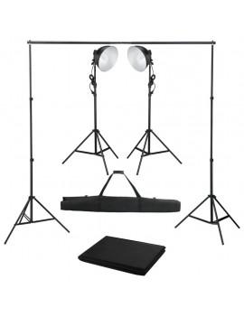 Photo Studio Kit with Studio Light and Backdrop