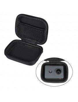 Mini Portable PU Camera Case Bag Water-resistant Storage for GoPro Hero 6/5/4/3+ Xiaomi Yi 4K + Lite Action Camera