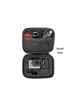 Portable Optional Size Anti-shock Storage bag for Sports Cam Gopro Accessory Black Camera Case